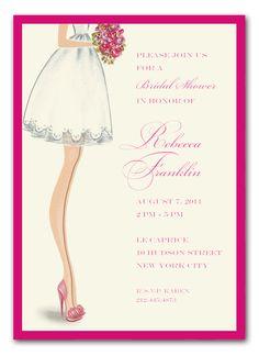 Sassy Bride Invitations By Bonnie Marcus   Invitation Box