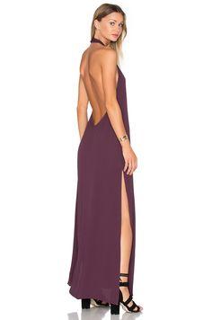 FLYNN SKYE Tyra Dress in Mulberry | REVOLVE
