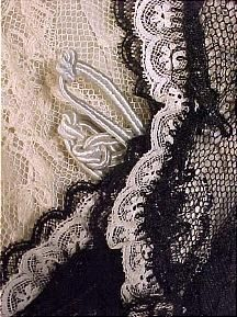 Evening gown, c. 1905
