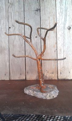 Mug Tree 8 Cup Holder Hand Crafted Made Of By Patesmetalwork 69 99 Coffee