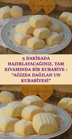 Günlerce tazeliğini koruyup, aniden gelen misafirlerinize ikram edebileceğini… A recipe for a delicious flour cookie with butter, scattered in the mouth, which you can keep fresh for days and serve to your suddenly arriving guests … No Flour Cookies, Drop Cookies, Cake Mix Cookies, Cookies Et Biscuits, Cupcakes, Fun Easy Recipes, Easy Desserts, Easy Meals, Baking Desserts