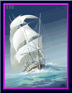 boats photo: Sailing on the Sea 19animated1919fc191919pppnnn.gif