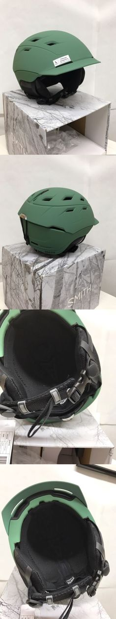 Protective Gear 36260: Smith Optics Variance Snow Sports Helmet - Matte Ranger Med Or Large -> BUY IT NOW ONLY: $99.0 on eBay!