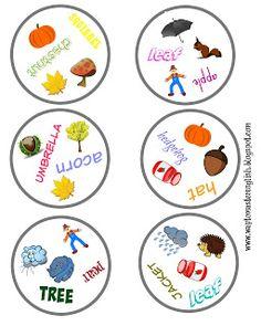Funglish: Dobble English Fun, English Lessons, Umbrella Tree, Teaching English, Games For Kids, Squirrel, Board Games, Alphabet, Blog