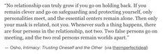 oslo, intimacy