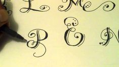 Como hacer Letras Bonitas Fáciles - how to make beautiful letters