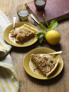 This pie is a wonderful make-ahead dessert. Letting it sit overnight or even for a full day allows the flavors to come together beautifully. Spaghetti Pie Recipes, Chicken Spaghetti, Chocolate Ravioli, Chocolate Recipes, Dessert Pasta, Pasta Pie, A Food, Good Food, Pie Crust Dough