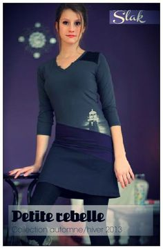 Fait à Montréal, Slak saura vous ravir. #robe #modemtl www.petiterebelle.ca