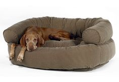 Double Donut Pet Bed  Our popular pet bed just got even better! The microvelvet Double Donut Pet Bed features a top tufted cushion and sop...