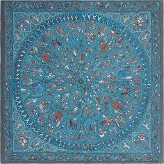 Gabrielle's Amazing Fantasy Closet | Hermes silk twill giant scarf, 55