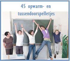 Opwarm- en tussendoorspelletje - KlasvanjufLinda.nl - vol met leuke lesideeën en lesidee