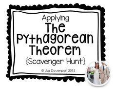 Pythagorean Theorem Worksheet   Find Distances On The Co  Math