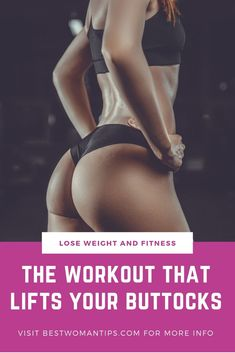 Butt workouts for women: the workout that lifts your buttocks Buttocks train until they are as round as the shape of a peach? At Home Glute Workout, Butt Workout, At Home Workouts, Glute Workouts, Gluteal Muscles, Buttocks Workout, Protect Your Heart, Fitness Tips For Women, Better Posture