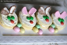 Mia Bella Passions: Irresistible  Easter Rabbit Cookies. #Easter #Easterbaking #Rabbitcookies