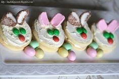 Mia Bella Passions: Irresistible  Easter Rabbit Cookies. #Easter #Easterbaking #Rabbitcookies