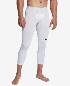 4fe03f8ac Nike Men s Dri-fit Pro Compression Tights - White 2XL Pro Fitness