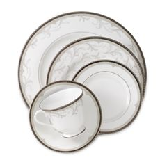Waterford Brocade Dinnerware - Bed Bath & Beyond- another set of fancy china possible Meat ware