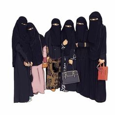 Together in Jannah . I Love Hijab . Muslim Girls, Muslim Couples, Muslim Women, Anime Muslim, Muslim Hijab, Hijabi Girl, Girl Hijab, Hijab Drawing, Niqab Fashion