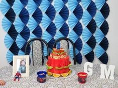 PAINEL / Cortina de Leques de Papel - YouTube Baby Shower Decorations For Boys, Balloon Decorations, Kids Decor, Birthday Party Decorations, 1st Birthday Parties, Paper Rosettes, Paper Flowers, Crepe Paper, Diy Organisation