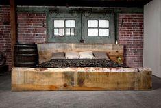 rustic or #industrial #bedroom by winnie