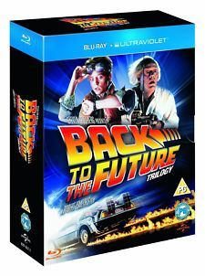 Back to the Future Complete Trilogy 1-3 Blu Ray 1 2 3 NEW Free Ship