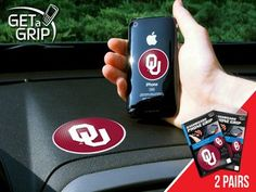 "University of Oklahoma 2 Get a Grip small 1.5"""" / large 3"""""