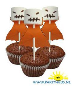 Halloween spookje van marshmallow
