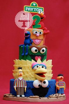 C is for Cookies...and cakes and cupcakes! Check out these adorable Sesame Street cake designs to find inspiration for your next sunny day creation.