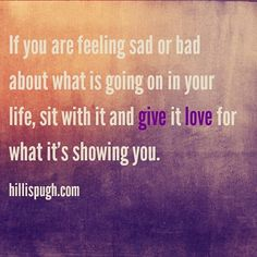 If you are feeling sad or bad about what is going on in your life sit with it and give it love for what it's showing you.  #fridayfeeling #friyay #feelgoodfriday #feelinggood #postivevibes #positivity #love #life #change #transformation #goodvibes #spiritualgrowth #spiritualganster #instagood #instadaily #inspirationalquotes #gratitude #appreciation #spiritual #spiritjunkie #lawofattraction #manifestation