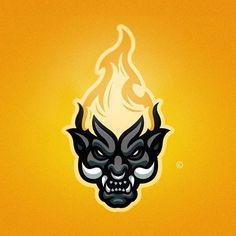 Logo Desing, Game Logo Design, Logo Esport, Art Logo, Sports Wallpapers, Gaming Wallpapers, E Sport, Sport Wear, Esports Logo