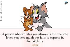 Tom and jerry Inspirational Quotes, Thoughts, Sayings, Messages images, wallpapers, photos, pictures