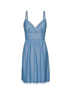 Nice denim summer dress. Mango summer 2012 collection.