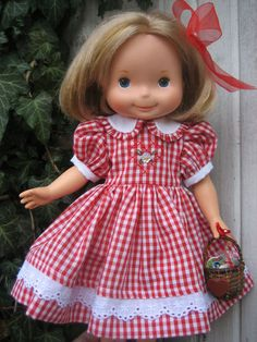 Valentine Outfit to Fit Sasha or Fisher Price My Friend Mandy Jenny Becky Doll   eBay