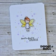 "AVERY ELLE: Pixie Dust (4"" x 6"" Clear Photopolymer Stamp Set) This package contains Pixie Dust: eighteen image and seven sentiment stamps. *Coordinates with Pix"
