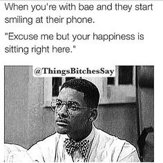 I DESPISE the word bae but that's funny as hell lol