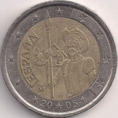 Motivseite: Münze-Europa-Südeuropa-Spanien-Euro-2.00-2005-Don Quixote