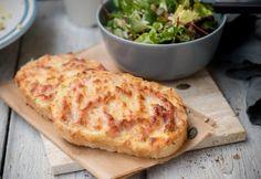 Duplasajtos-sonkás melegszendvics | NOSALTY Meat Recipes, Dinner Recipes, Ham, Mashed Potatoes, Macaroni And Cheese, Nom Nom, Bacon, Sandwiches, Food Porn