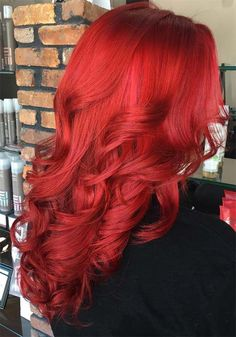 100 Badass Red Hair Colors: Auburn, Cherry, Copper, Burgundy Hair Shades // #Auburn #Badass #Burgundy #Cherry #Colors #Copper #Hair #shades