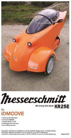 Crazy Cars, Weird Cars, Bike Cart, Microcar, Reverse Trike, Tandem, Dream Cars, Mall, Electric