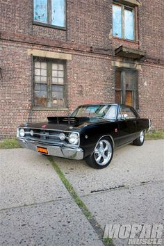 1968 Dodge Dart Gts I would love to be given the chance to drive this beast(:
