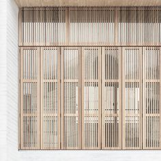 Image 15 of 24 from gallery of Daebong-dong Commercial Skip Floor / architects. Photograph by Shin Kyungsub Architecture Design, Facade Design, Door Design, House Design, Wood Facade, Floor Layout, Daegu, Architectural Elements, Cladding