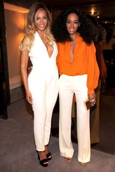 In honor of Solange Knowles' birthday we're calling out little sisters who keep up the chic family name. See our favorite celebrity styles here.