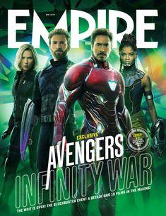 Vingadores: Guerra Infinita | Confira à capa promocional da revista Empire Magazine, 26 abril nos cinemas. #Vingadores #GuerraInfinita #InfinityWar #AvengersInfinityWar
