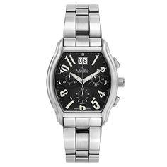 Charmex Men's Silvertone Swiss Quartz Watch