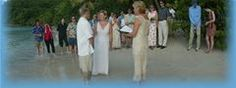 A beach wedding is a popular choice