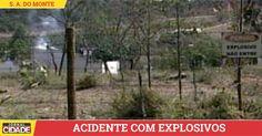 Morre terceira vítima de explosão em Santo Antônio do Monte.>http://goo.gl/iqzftz