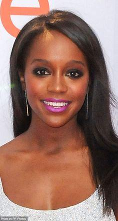 Aja Naomi King Wearing Carrie Hoffman Jewelry - 46th NAACP Image Awards