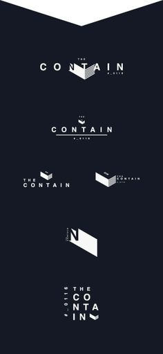 The Contain by Elia, via Behance | Identity | Pinterest  developments