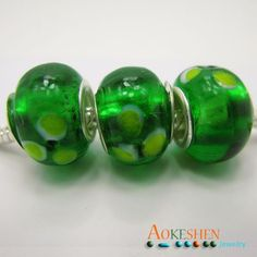 Bright Green Pink Lampwork Murano European Style Glass Beads Spacer http://www.eozy.com/bright-green-pink-lampwork-murano-european-style-glass-beads-spacer
