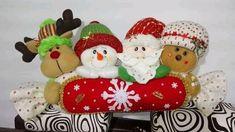 Enfeite para decoração de natal com molde para impressão